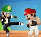 Mario Street Fighter Oyunu